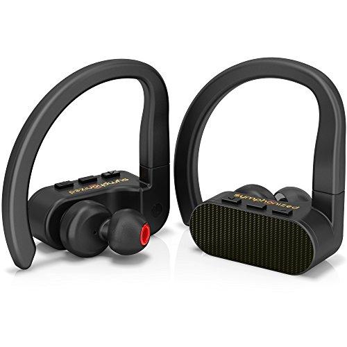 True Wireless Earbuds, Savy Sweatproof Sports Earphones
