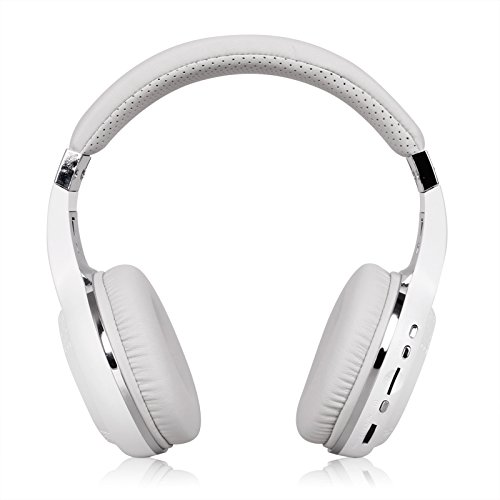 9e0c50fcb9e Bluedio H Plus Turbine Wireless Bluetooth Headphones V4.1 Bass Stereo  Over-ear Headset with Mic FM Radio Support SD Card for iPhone Samsung White