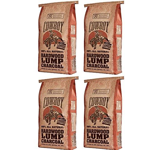 Cowboy 24220 Lump Charcoal 20 Pound 4 Pack Zuhsna